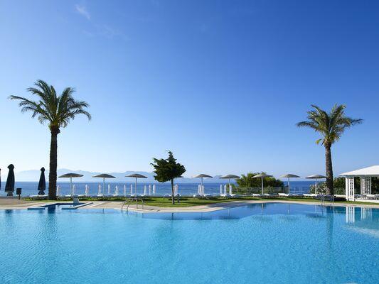 Holidays at Dimitra Beach Resort Hotel in Aghios Fokas, Kos