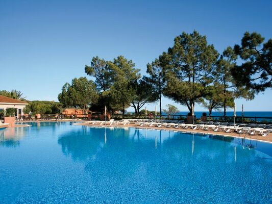 Holidays at Porto Bay Falesia Hotel in Olhos de Agua, Albufeira