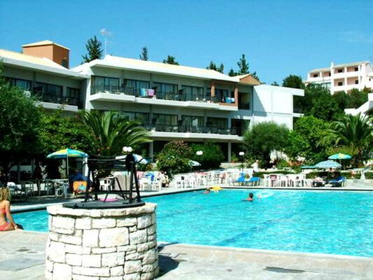 Holidays at Telemachos Hotel in Dassia, Corfu