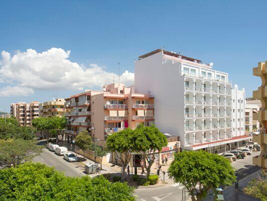 Holidays at Central Playa Hotel in Figueretas, Ibiza