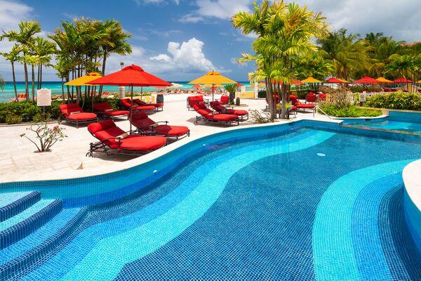 Holidays at O2 Beach Club & Spa in Christchurch, Barbados