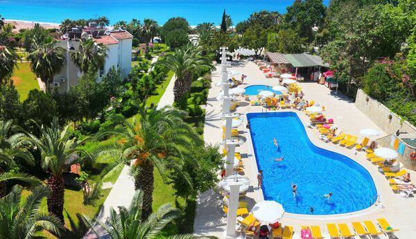 Holidays at Club Aqua Plaza Hotel in Alanya, Antalya Region