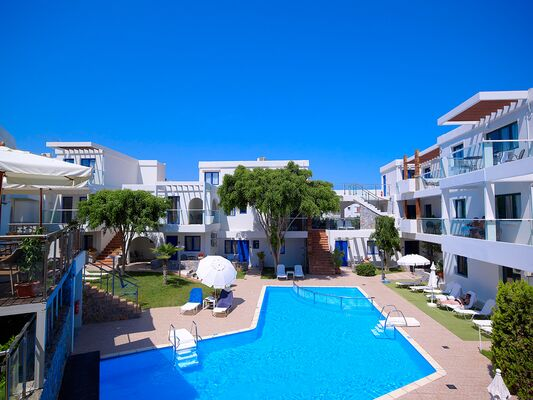 Holidays at Minos Village in Agia Marina, Crete