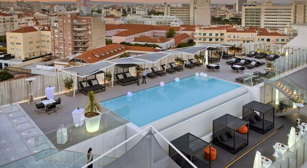 Holidays at Epic Sana Lisboa Hotel in Lisbon, Portugal