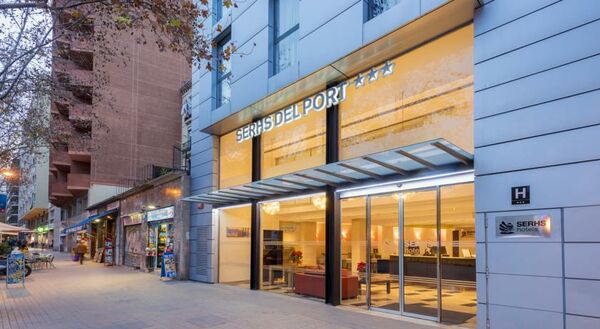 Holidays at Serhs Del Port Hotel in Parallel, Barcelona