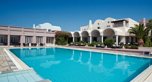 Holidays at Nine Muses Hotel in Perissa, Santorini