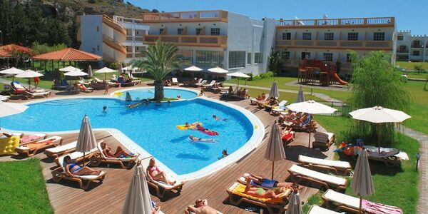 Holidays at Alfa Hotel in Kolymbia, Rhodes