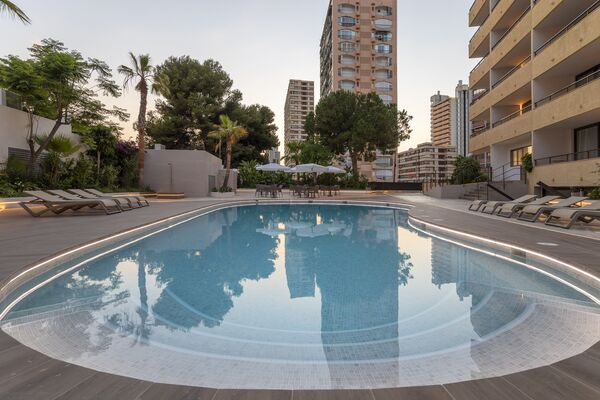 Holidays at Apartments Halley Affiliated by Melia in Benidorm, Costa Blanca
