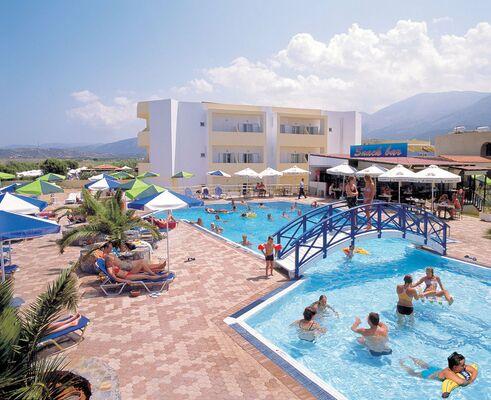 Holidays at Carolina Mare Hotel in Malia, Crete