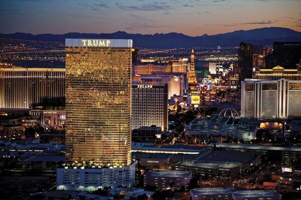 Holidays at Trump International Las Vegas Hotel in Las Vegas, Nevada