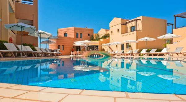 Holidays at Silver Beach Hotel in Gerani Chania, Chania