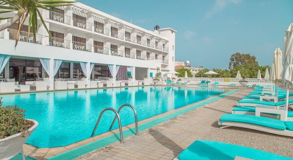 Holidays at Sveltos Hotel in Larnaca Bay, Larnaca