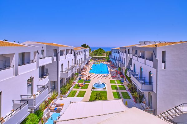Holidays at Sunrise Hotel in Platanias, Chania
