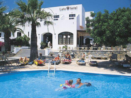 Holidays at Lato Hotel in Aghios Nikolaos, Crete