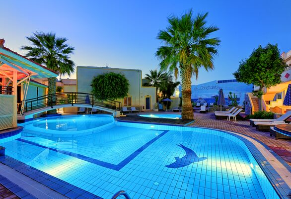 Holidays at St Constantin Hotel in Gouves, Crete