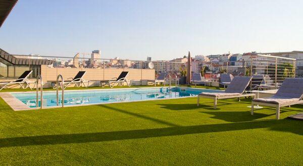 Holidays at Nh Lisboa Liberdade Hotel in Lisbon, Portugal