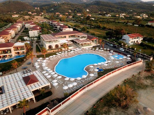 Holidays at Almyros Beach Hotel in Acharavi, Corfu
