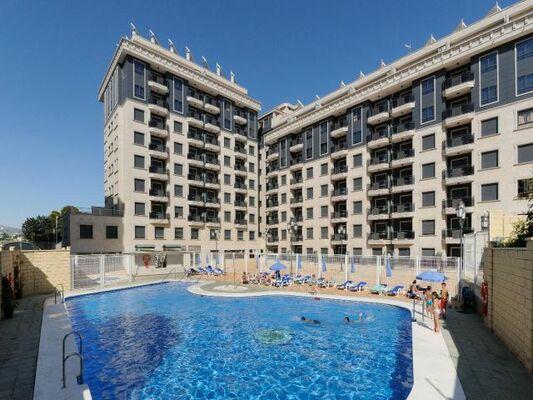 Holidays at Nuria Sol Apartments in Fuengirola, Costa del Sol