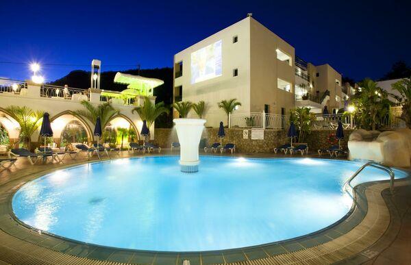 Holidays at Pefkos Beach in Rhodes Town, Rhodes