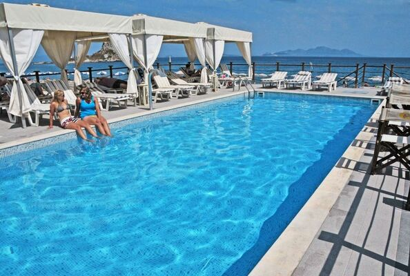 Holidays at Sacallis Inn Hotel in Kefalos, Kos