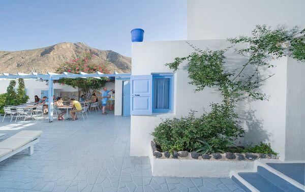 Holidays at Amelie Hotel in Perissa, Santorini