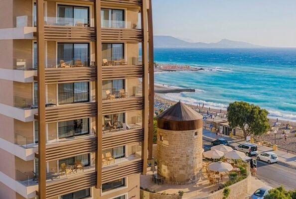Holidays at Bellevue Suites in Rhodes Town, Rhodes