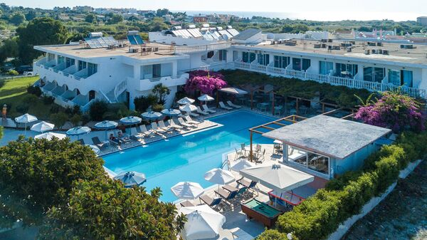 Holidays at Loutanis Hotel in Kolymbia, Rhodes