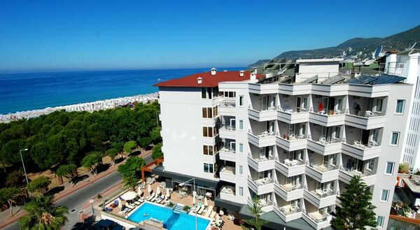 Holidays at Hatipoglu Beach Hotel in Alanya, Antalya Region