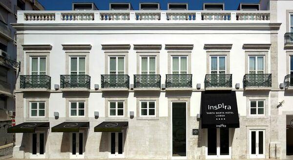 Holidays at Inspira Santa Marta Hotel in Lisbon, Portugal