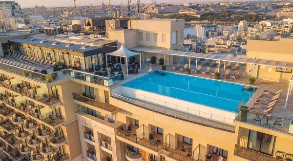 Holidays at Palace Hotel in Sliema, Malta