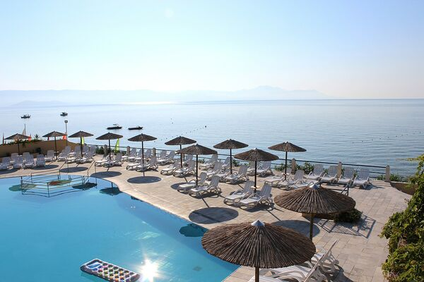 Holidays at Ionian Sea View Hotel in Kavos, Corfu