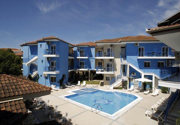 Holidays at Stratos Hotel in Afitos, Kalithea Halkidiki