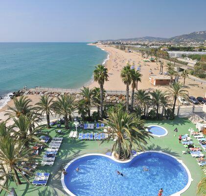 Holidays at Caprici Hotel in Santa Susanna, Costa Brava