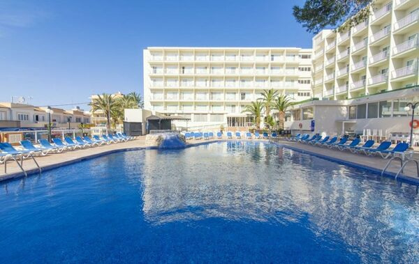 Holidays at Azuline Coral Beach Hotel in Es Cana, Ibiza
