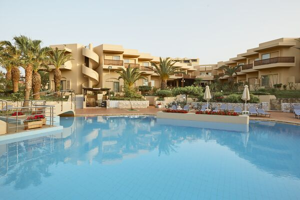 Holidays at Giannoulis Santa Marina Beach Resort in Agia Marina, Crete