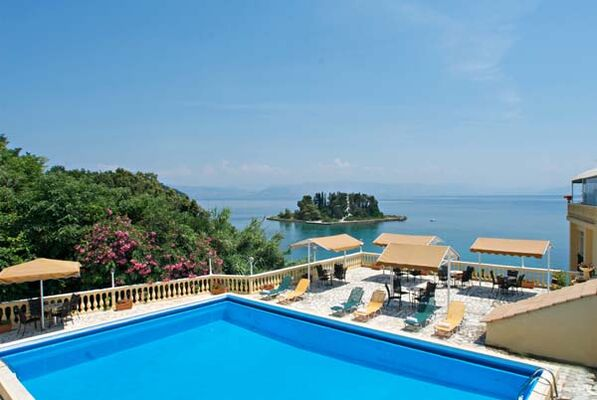 Holidays at Pontikonisi Hotel in Perama, Corfu