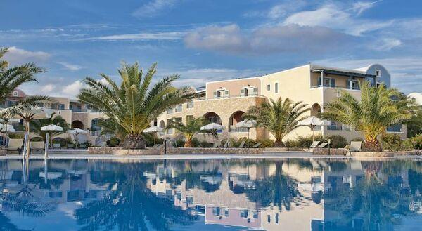 Holidays at Santo Miramare Resort in Perivolos, Perissa