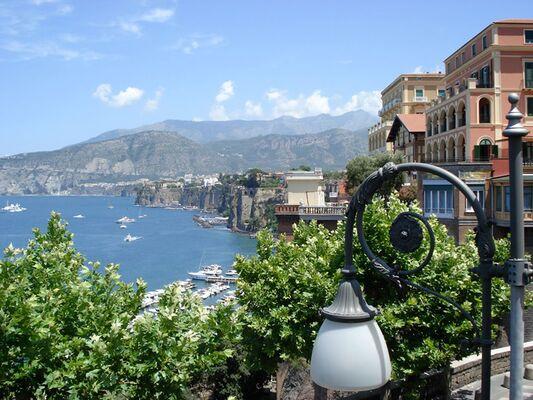 Holidays at Savoia Hotel in Sorrento, Neapolitan Riviera
