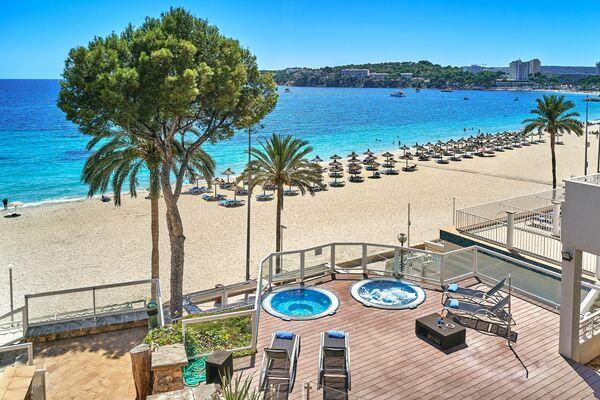 Holidays at Flamboyan Caribe Hotel in Magaluf, Majorca