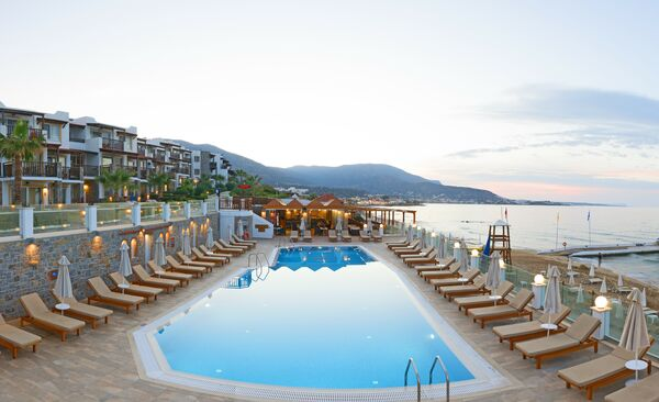 Holidays at Alexander Beach Hotel and Village in Malia, Crete