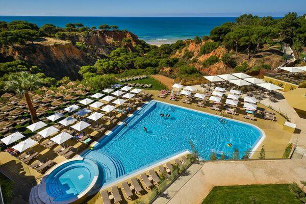 Holidays at Falesia Beach Resort in Olhos de Agua, Albufeira