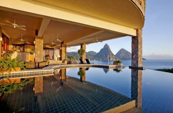 Holidays at Jade Mountain in Soufriere, St Lucia