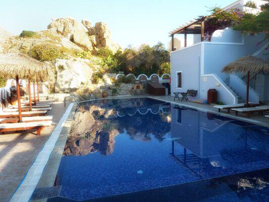 Holidays at Black Sand Apartments in Kamari, Santorini