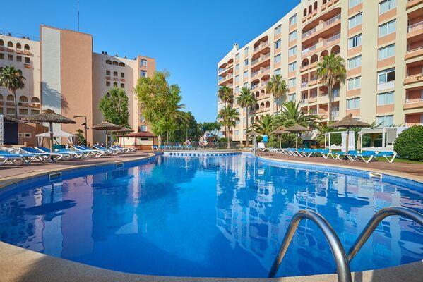 Holidays at HYB Eurocalas Aparthotel in Calas de Mallorca, Majorca