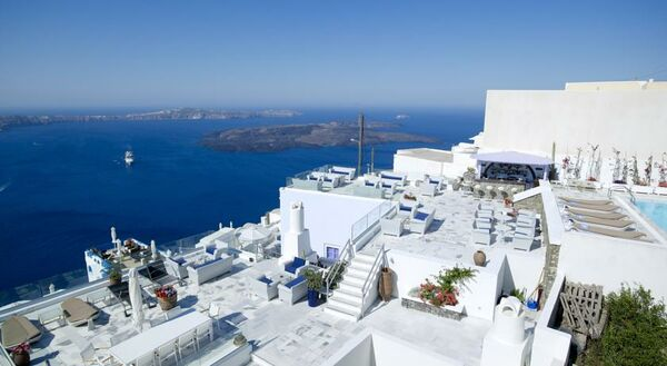 Holidays at Kallisto Hotel in Imerovigli, Santorini
