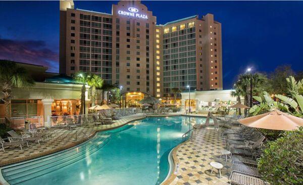 Holidays at Crowne Plaza Universal Orlando Hotel in Orlando International Drive, Florida