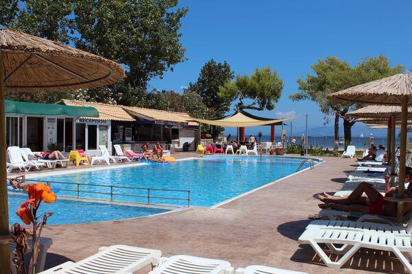 Holidays at Koulouris Beach Hotel in Kavos, Corfu
