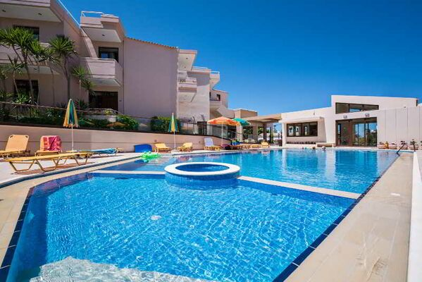 Holidays at Oscar Suites & Village Hotel in Agia Marina, Crete