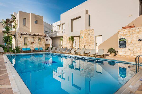 Holidays at Elotis Suites Hotel in Agia Marina, Crete