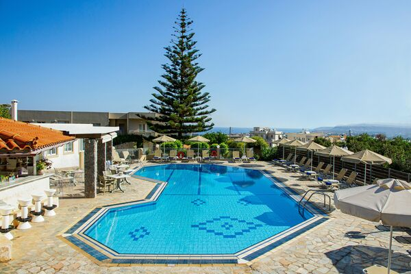 Holidays at Villa Mare Monte Apartments in Malia, Crete